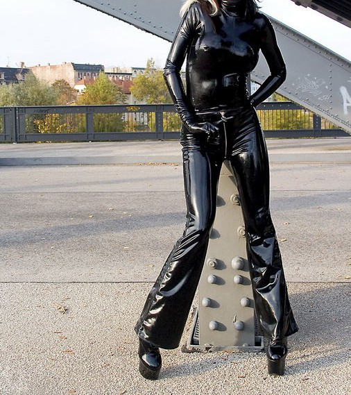 af58585ed Latex Rubber/fetishism/Uniform/superstition/Costume/party/sexy/Ms ...