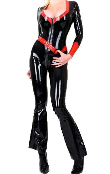 23569adb2 Latex Rubber/fetishism/Uniform/superstition/Costume/party/Women 's casual  fashion/OEM72