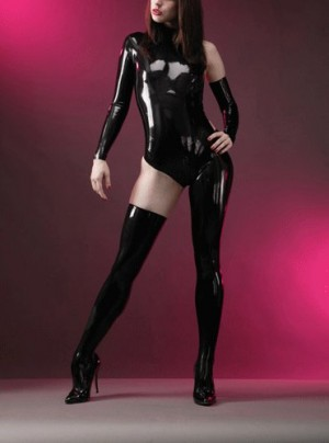 Latex Rubber/fetishism/Uniform/superstition/Costume/party/sexy/OEM76